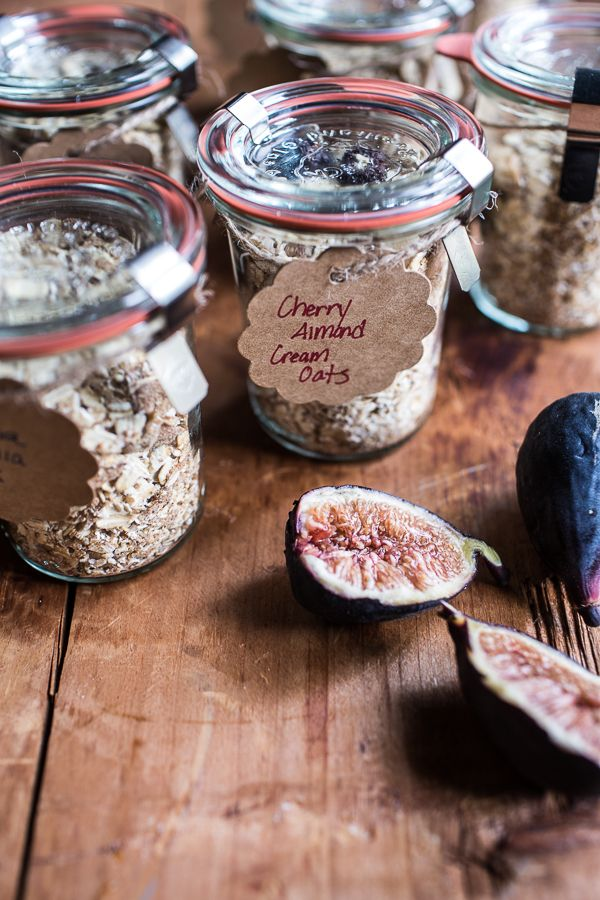 Homemade Instant Oatmeal 5 Ways…For Back to School   halfbakedharvest.com…