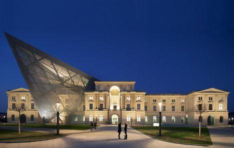 Dresden Museum of Military History, Germany | Studio Daniel Libeskind