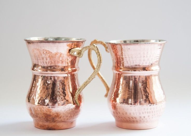 Copper Moscow Mule by www.grandbazaarshopping.com Hand-hammered Copper Mug, Copper Cup, Kitchen Decor, Party Idea, Copper Stoup
