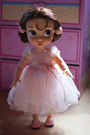 Doll's Tulle Dress / Disney Animator Doll Belle