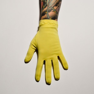'50s Fownes Yellow Gloves, $32, now featured on Fab.