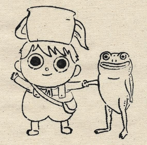 Greg And Frog Over The Garden Wall Patch In 2020 With Images