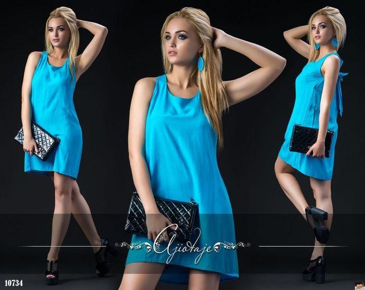 Платье с бантиком на спинке, купить, низкая розничная цена, большой выбор…