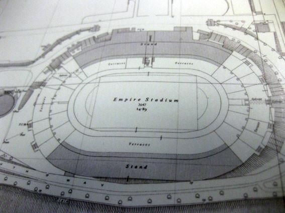 Wembley Stadium 1957