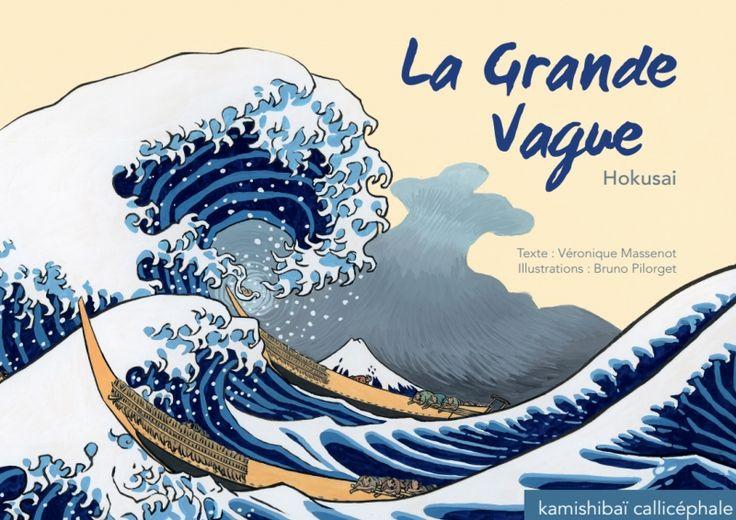 Trop long  Callicéphale - La grande vague    Hokusai