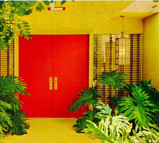 What they call a Hollywood entrance ... See more 70s homes