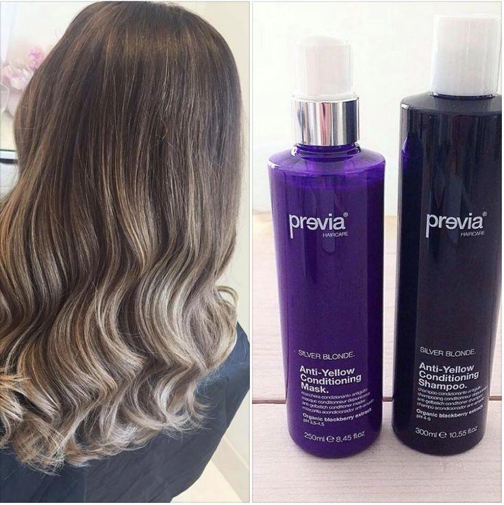 schiaritura fino a 7 volumi... .. per un effetto super #naturale ! :) by #previa #haircare #madeinitaly #hair