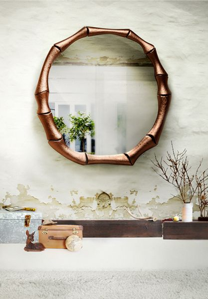 Haiku Mirror By BRABBU #wood #wall #mirror Nature Inspired Furniture