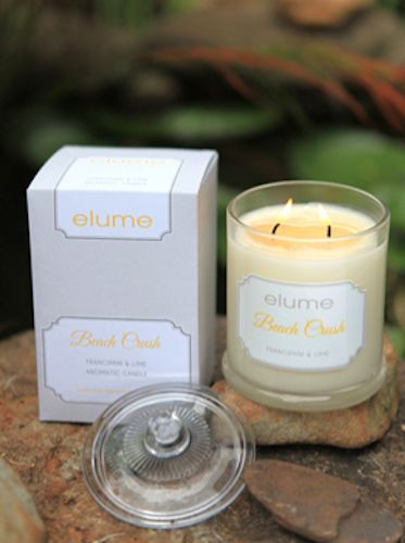 Beach Crush - Frangipani & Lime    The soft floral aroma of frangipani on the breeze coupled with crisp, refreshing lime combines dazzlingly to evoke warm summer nights on an idyllic tropical beach.