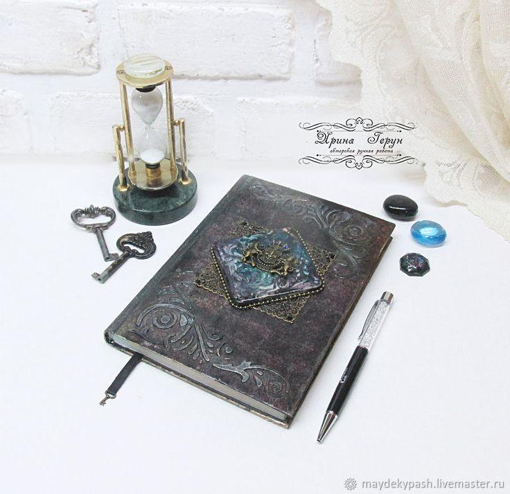 Купить Ежедневник для мужчины - Декупаж, для мужчин, ежедневник, подарок, фиолетовый, подарок мужчине, подарок на новый год