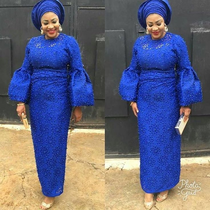"224 Likes, 1 Comments - Ankara Collections (@ankaracollections) on Instagram: ""Blue is beautiful #asoebi #ankaracollections"""