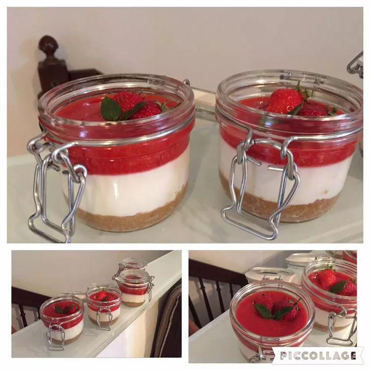 cheesecake alle fragole bimby monoporzione
