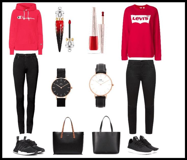 Girls school outfits outfit | shoplook – School outfits for fall jeans bags