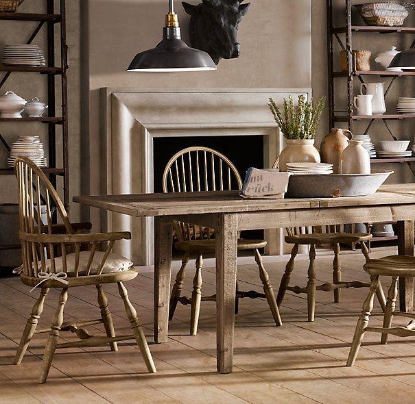 The Fat Hydrangea Knock Off Restoration Hardware Dining Room Restoration  Hardware Dining Room Table