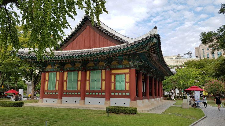 대구 경상감영공원  A park of gyeong-sang provincial office from the Joseon dynasty