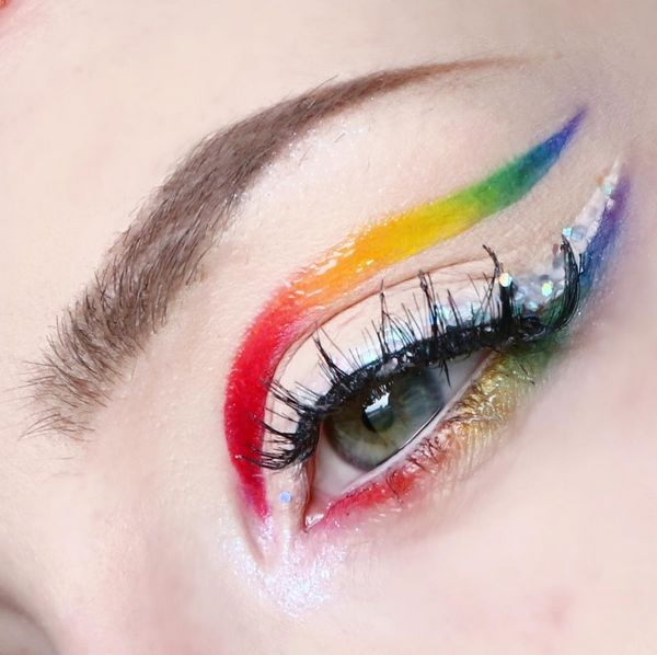 Trucco arcobaleno