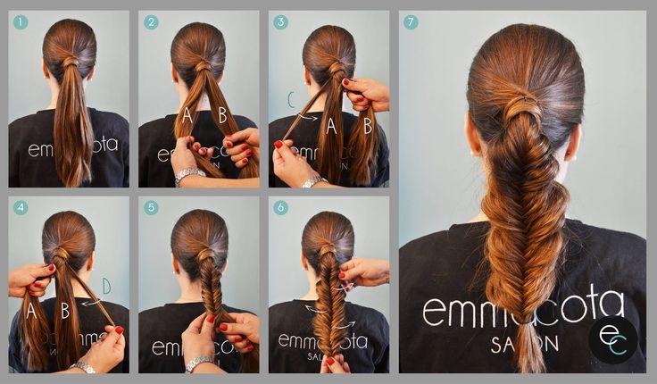 """Si eres de las que te gustan las trenzas pero ya estas cansada de los típicos peinados con ellas, este martes de #ECtips de #emmacotasalon te enseñamos una de las últimas tendencias: la """"trenza de cola de pescado"""", un peinado súper fácil que se ha vuelto muy popular. Aquí te decimos como hacerla paso a paso  https://www.facebook.com/emmacotasalon/photos/pb.316396745164581.-2207520000.1433865534./640172939453625/?type=3&theater"""