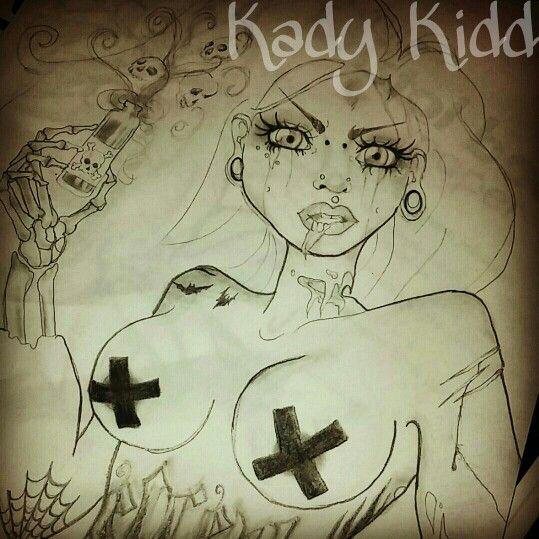Tattoo Woman Zombie: Best 25+ Zombie Girl Tattoos Ideas On Pinterest