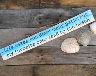 Beach signs, beach decor, beach quotes, beach sayings, pallet sign, wooden beach signs, life quotes, quotes, pallet, beach, life