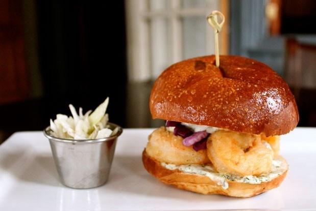 The Shrimp'wich at Fuel House (Image: Karolyne Ellacott).