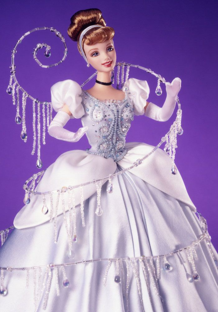 Disneyana - Cinderella - I wanted to create a doll that looked as close as possible to the film - so this is the only Cindy with strawberry blond hair!