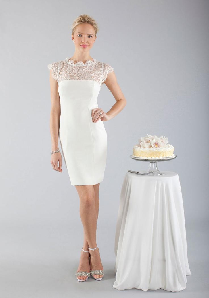 25 best Nicole Miller images on Pinterest | Wedding frocks, Short ...