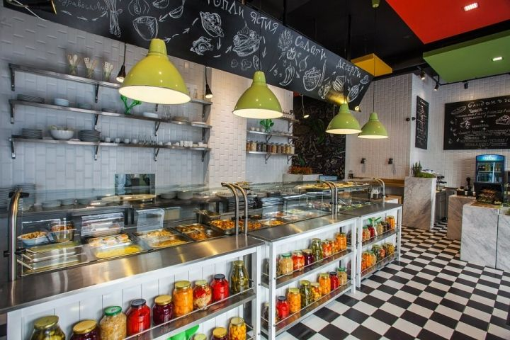 Trops.food fast food restaurant by T Design, Sofia – Bulgaria hotels and restaurants