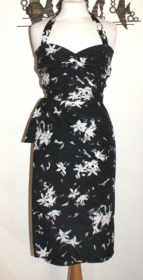 1950s Vintage Fabric New Made Repro Hawaiian Sarong Dress