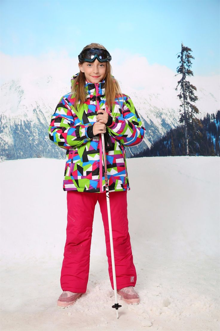 >> Click to Buy << 017 New Children's Winter Clothing Set  GIRLS Skiing Suit Snowboarding Jacket And Pants Quality Kids Ski Wear Twinset HX2427 #Affiliate