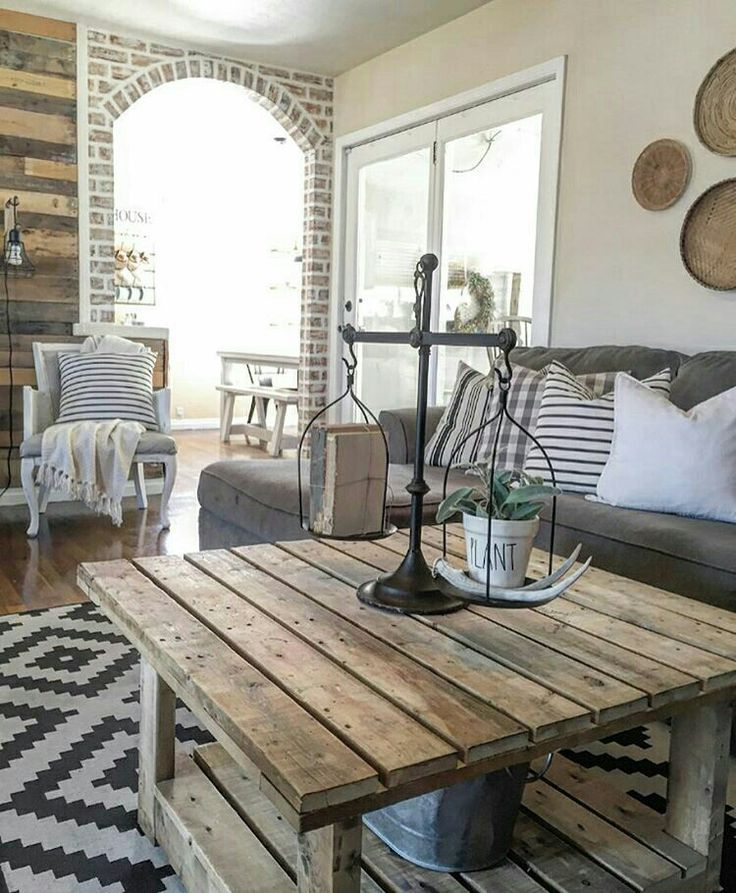 Industrial Farmhouse Living Room: 3413 Best My Farmhouse Style Images On Pinterest