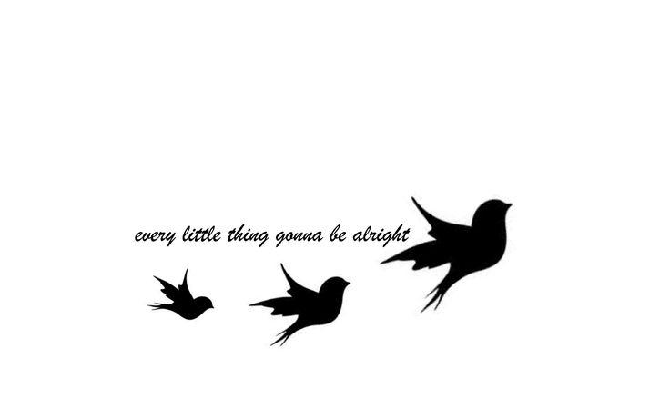 Tattoo, bob marley, three little birds