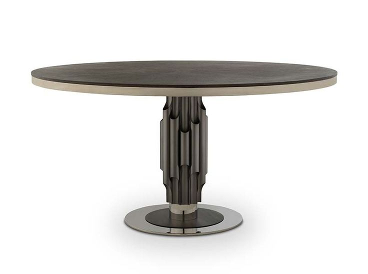 Tribeca Features The Best In Designing That Emotes With The Interior Decor.  The Designer Dining Table Features A Wooden Top On A Steel Base With A  Gorgeous ...