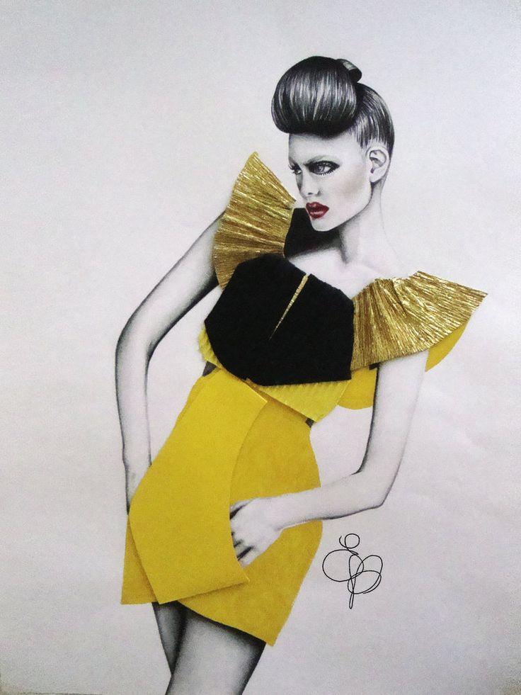 Serie Moda Collage Tav#9 by EVanillaArt.deviantart.com on @DeviantArt