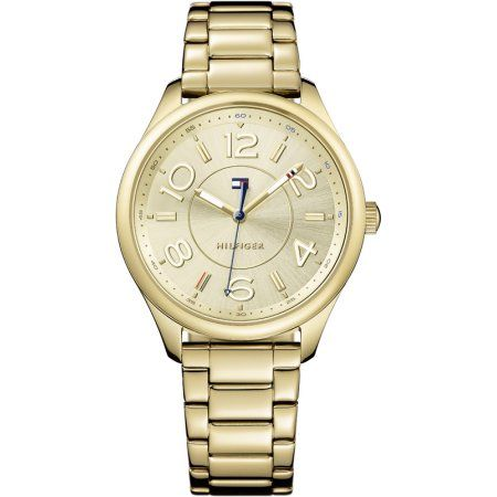 Tommy Hilfiger Sofia Gold-Tone Ladies Watch 1781673, Size: mm, Gold