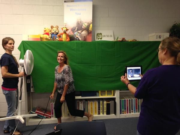 Using FAN to help with motion -- Excellent idea!!