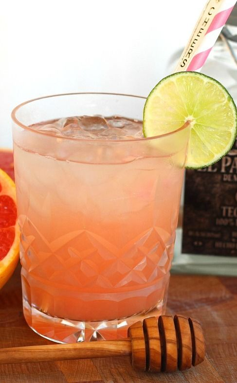 A traditional Paloma is a cocktail made with Grapefruit soda and tequila. Very refreshing, yet incredibly delicious!