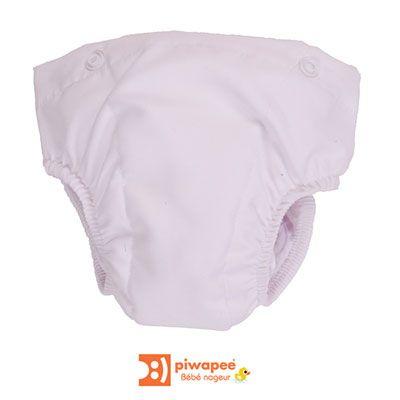 Couche lavable clipsable pour combinaison maillot de bain couche et short swim+ 12-24 mois Piwapee