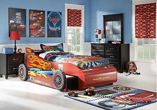 Lightning mcqueen twin bed boys tween bedroom ideas
