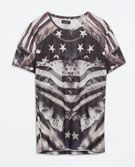 PRINTED T - SHIRT - T - shirts - MAN   ZARA United States