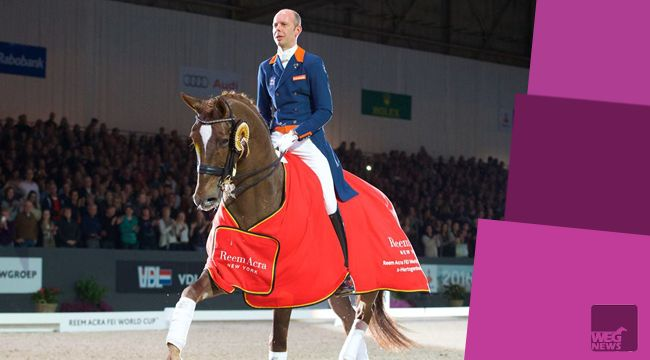 Hans Peter Minderhoud wygrał Reem Acra FEI World Cup Dressage Freestyle