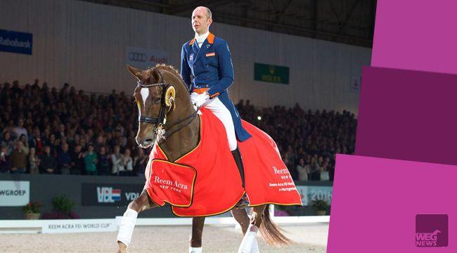 Hans Peter Minderhoud wygrał Reem Acra FEI World Cup Dressage Freestyle