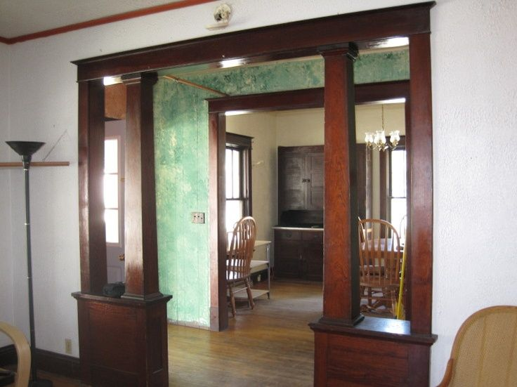 75 best images about colonnades on pinterest craftsman for Craftsman home interior