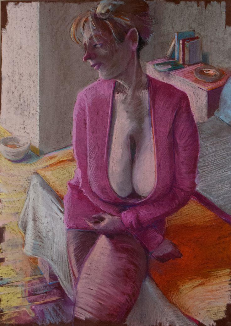 Po prostu pani #pastels #artforfun #tybur