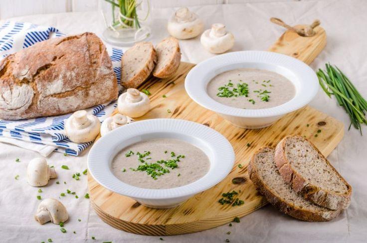 Krémová šampiňónová polievka | Recepty.sk
