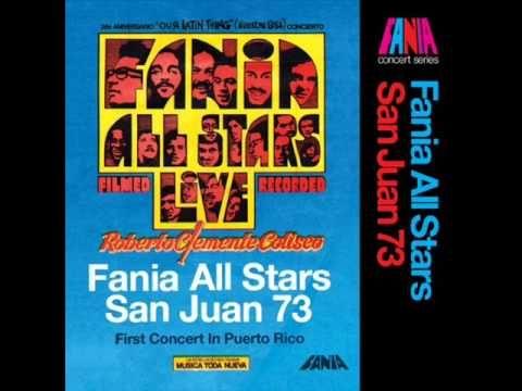 FANIA ALL STARS EL RATON CHEO FELICIANO - YouTube