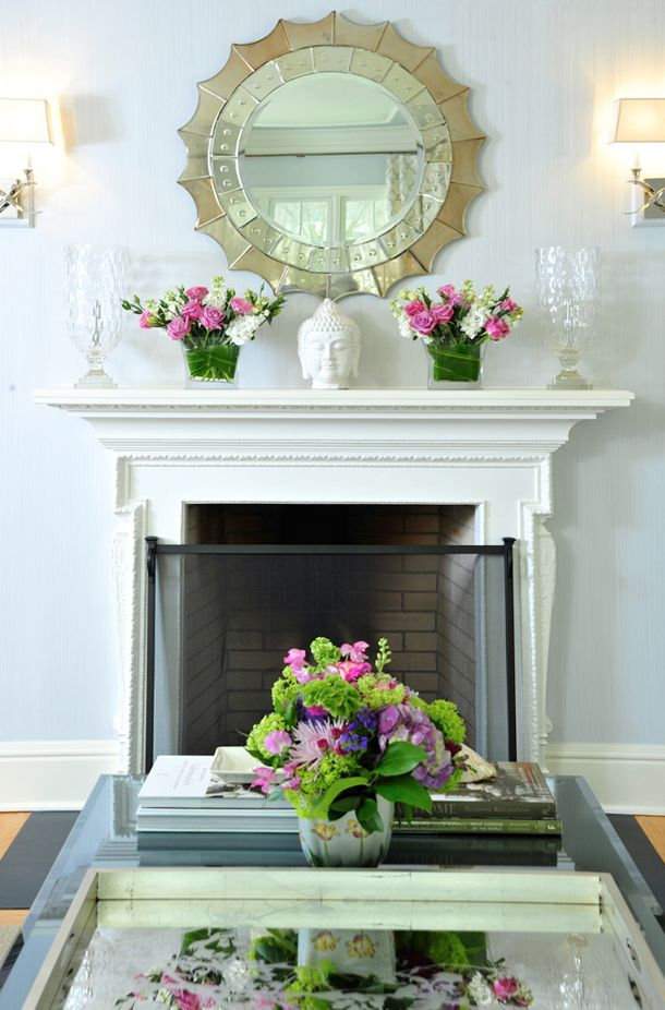 How To Decorate A Mantle 25 best fireplace mantle decor images on pinterest | fireplace
