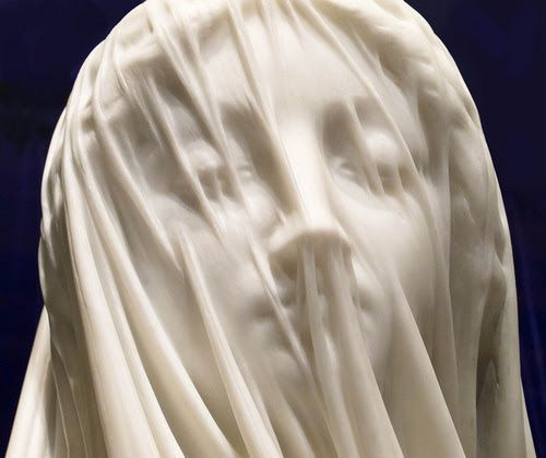 Gian Lorenzo Bernini (1598 – 1680) was an Italian sculptor and architect. A major figure in the world of architecture, he was the leading sculptor of his age, credited with creating the Baroque style of sculpture. (Wikipedia) . Follow the link and see more fantastic veiled sculptures!