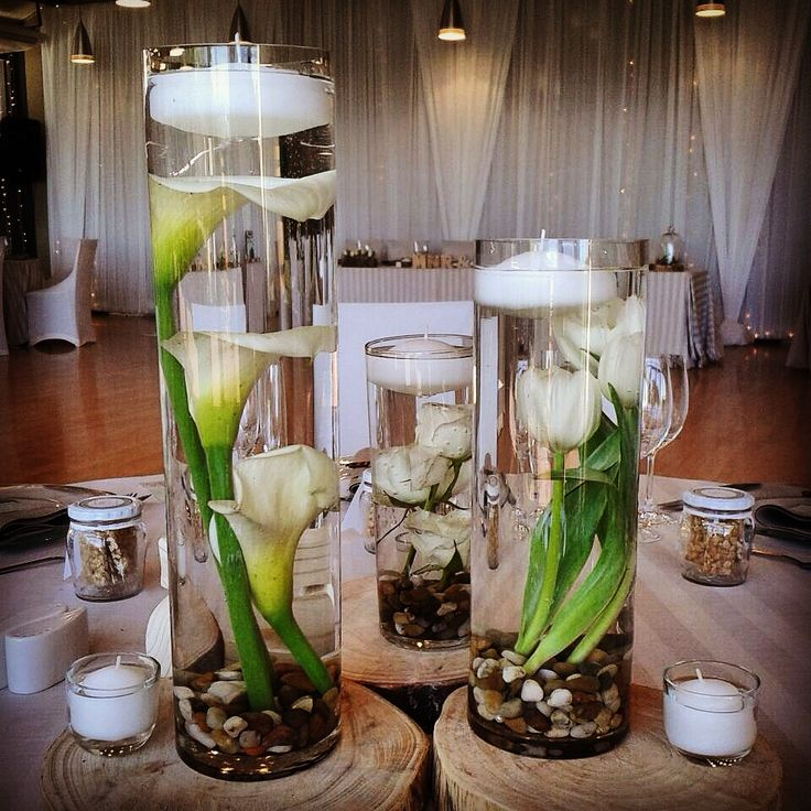 Beautiful table decor from a wedding held at our winelands function venue recently.