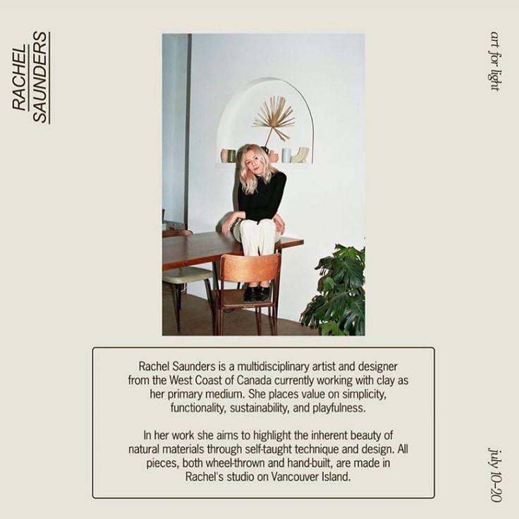 Rachel Saunders Rachelsaundersceramics Instagram Photos And Videos In 2020 Squarespace Design Design Typography