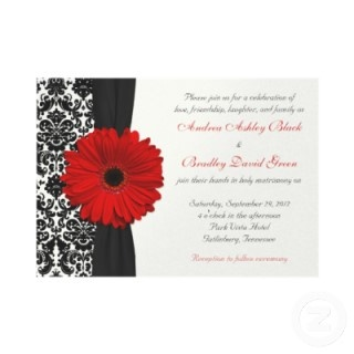 21 Best Black White And Red Wedding Theme Images On